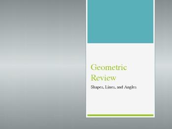 3rd Grade Geometry Review