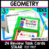 3rd Grade Geometry STAAR Review: 2D and 3D Shapes TEKS 3.6A 3.6B 3.6E