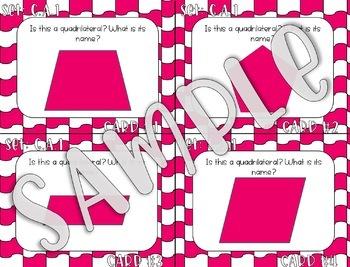 3rd Grade Geometry Task Cards - ALL Standards