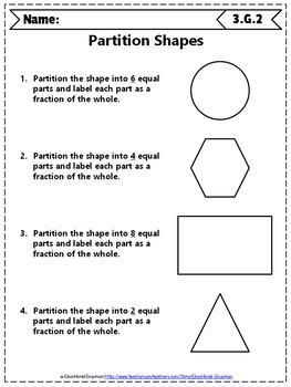 3rd Grade Geometry Worksheets: 3rd Grade Math Worksheets, Geometry
