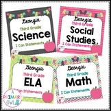 3rd Grade Georgia ELA, Math, Science and Social Studies I