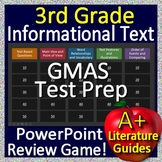 3rd Grade Georgia Milestones Test Prep EOG Informational Text Review Game GMAS