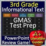3rd Grade Georgia Milestones Test Prep EOG Informational Text Review Game GMAS