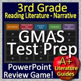 3rd Grade Georgia Milestones Test Prep EOG Literature/Narrative Review Game GMAS