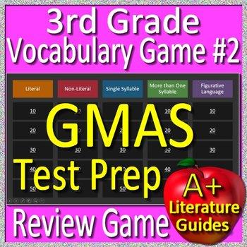 3rd Grade Georgia Milestones Test Prep Reading Vocabulary Review Game #2 - GMAS