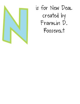 3rd Grade Georgia Social Studies ABC's Flip Book