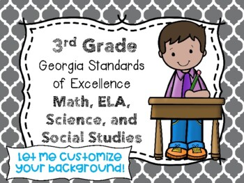 3rd Grade Georgia Standards Of Excellence Worksheets & Teaching