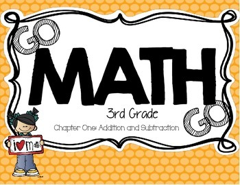 3rd Grade Go Math Centers - Chapter 1
