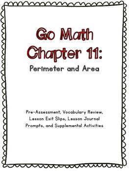 3rd Grade Go Math Chapter 11 Supplemental Materials