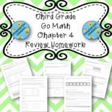 Third Grade Go Math Chapter 4 Review Homework