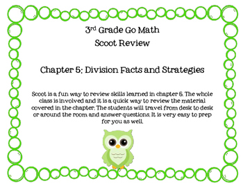 3rd Grade Go Math Chapter 5 Scoot Review