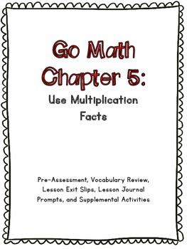 Go math chapter 5 teaching resources teachers pay teachers 3rd grade go math chapter 5 supplemental materials fandeluxe Image collections