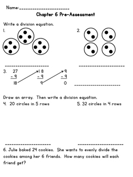 3rd Grade Go Math Chapter 6 Supplemental Materials