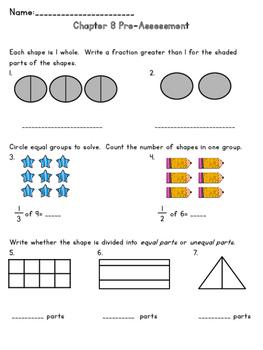 3rd Grade Go Math Chapter 8 Supplemental Materials