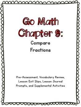 3rd Grade Go Math Chapter 9 Supplemental Materials