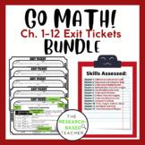 3rd Grade Go Math! Exit Tickets: Growing Bundle