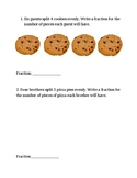 3rd Grade Go Math Fractions Problem of the Day