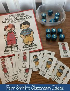 3rd Grade Go Math 1.7 Using Place Value to Add Multi-Digit Numbers To 1000