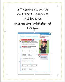 3rd Grade GoMath Interactive Flip Chart Ch. 1 Lesson 2
