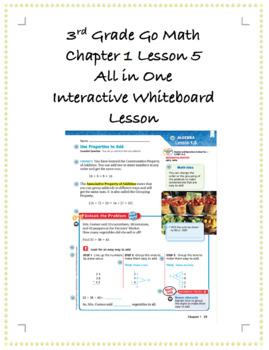 3rd Grade GoMath Interactive Flip Chart Ch. 1 Lesson 5