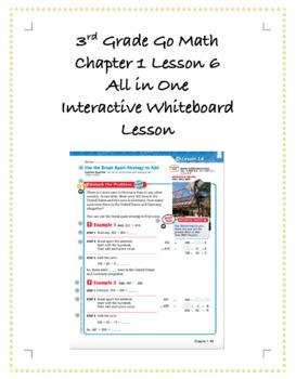 3rd Grade GoMath Interactive Flip Chart Ch. 1 Lesson 6