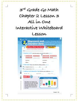 3rd Grade GoMath Interactive Flip Chart Ch. 2 Lesson 3