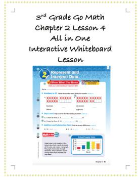 3rd Grade GoMath Interactive Flip Chart Ch. 2 Lesson 4