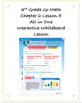 3rd Grade GoMath Interactive Flip Chart Ch. 2 Lesson 5