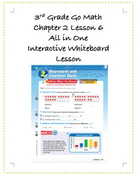 3rd Grade GoMath Interactive Flip Chart Ch. 2 Lesson 6
