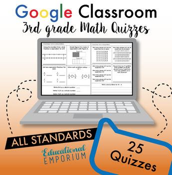 3rd Grade Google Classroom Math Bundle, Interactive Digital Math Curriculum, 3rd