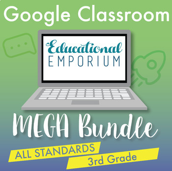 ⭐The ULTIMATE 3rd Grade Google Classroom Math Bundle⭐ Distance Learning