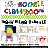 Digital Math Centers & Activities Endless Bundle 3rd Grade