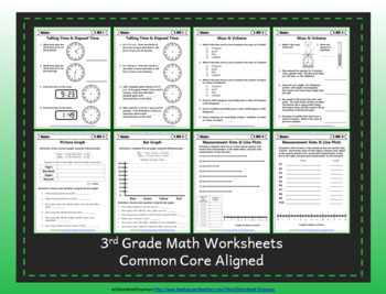 3rd Grade Google Classroom Math Worksheets, Digital Math Worksheets, 3rd Grade
