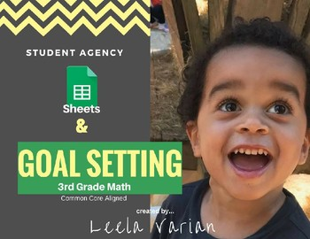 3rd Grade Google Sheets Math Goal Tracker