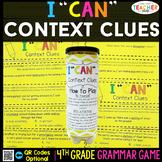 4th Grade Context Clues, Roots, Affixes Game