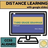 3rd Grade Grammar: Nouns | Distance Learning