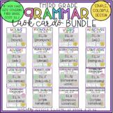 3rd Grade Grammar Task Cards BUNDLE