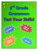 3rd Grade Grammar--Test Your Skills!