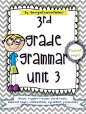 3rd Grade Grammar Unit 3: Nouns and Pronouns