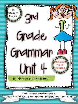 3rd Grade Grammar Unit 4: Verbs