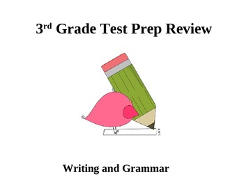 3rd Grade Grammar and Writing Test Prep