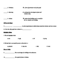 3rd Grade Greece and Democracy Study Guide, Vocabulary, an