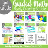 3rd Grade Guided Math Activities Bundle