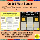 3rd Grade Guided Math Bundle
