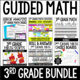 3rd Grade Guided Math Centers (Mega Bundle)