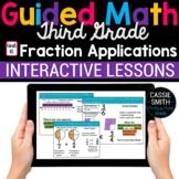3rd Grade Math Fractions 3.NF.1 3.NF.2 3.NF.3 -Google Classroom