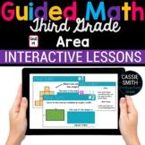 3rd Grade Math Area 3.MD.5 3.MD.6 3.MD.7 -Google Classroom