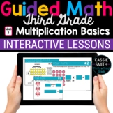 3rd Grade Guided Math -Google Classroom Unit 3 Multiplicat