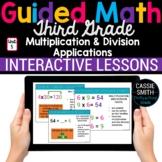 3rd Grade Math Multiplication Division 3.OA.4 3.OA.5 3.OA.