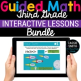 3rd Grade Math Google Classroom Digital Bundle (For Distan